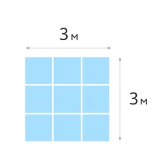 Найди сторону квадрата