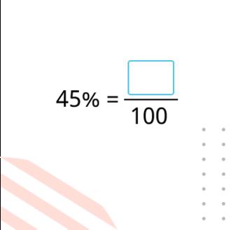 Перевод процентов в десятичную дробь