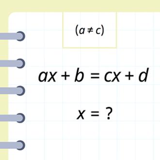 ax + b = cx + d