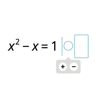 x² + px = q