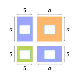 Квадрат суммы. Геометрическое доказательство